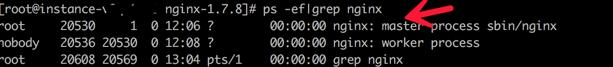 linux nginx启动 重启 关闭命令